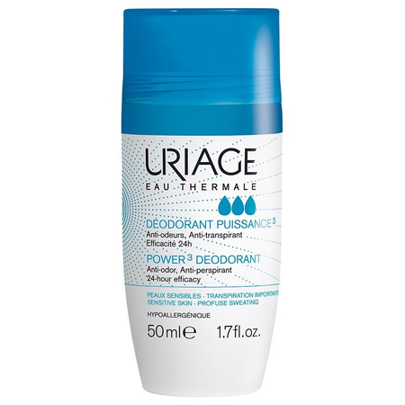 Déodorant Puissance 3 Roll On 50ml - Uriage
