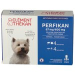 Perfikan 67mg/600mg Solution Spot-On Petits Chiens - 4 pipettes