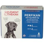 Perfikan 402mg/3600 mg Solution Spot-On Très Grands Chiens - 4 pipettes