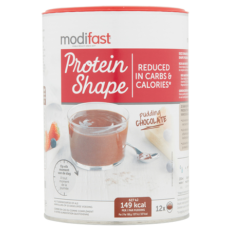 Protein Shape Pudding Goût Chocolat - 12 portions - Modifast