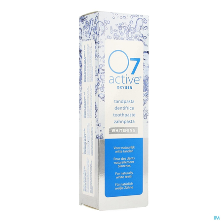 Active Oxygen Dentifrice Blancheur - 75ml - O7 Active