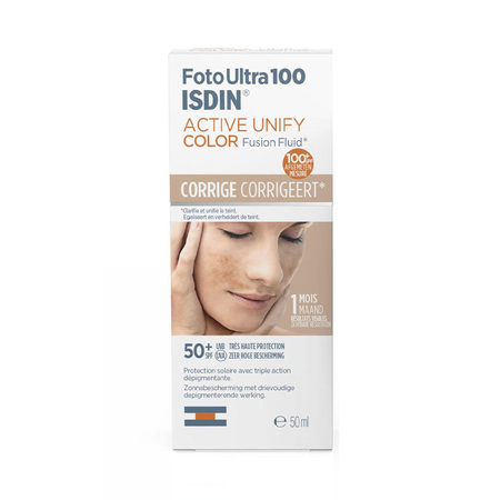 Foto Ultra 100 Active Unify Color Fusion Fluid SPF50+  - 50ml - Isdin
