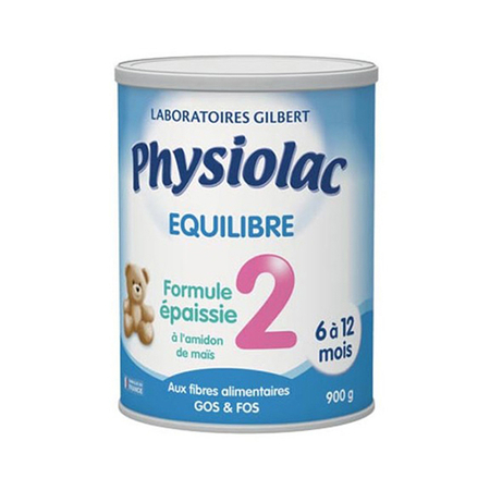 Equilibre Lait 2eme Age - 900g - Physiolac