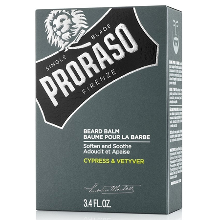 Baume à Barbe Cypress and Vetyver - 100ml - Proraso