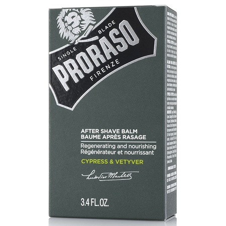 Baume Après-Rasage Cypress and Vetyver - 100ml - Proraso
