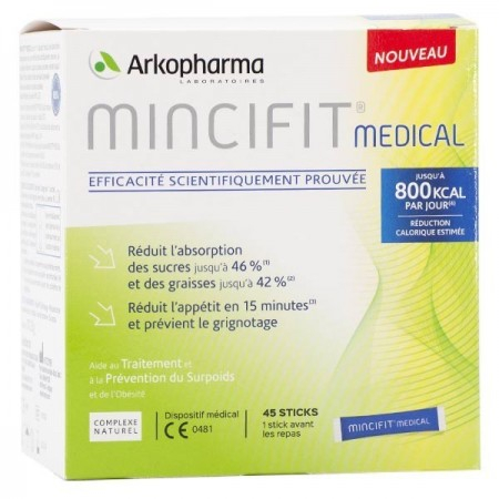 Mincifit Medical - 45 sticks - Arkopharma