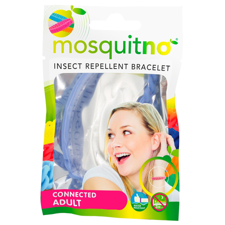 Trendy Insect Repellent Bracelet Connected Small Adult Citriodiol Couleur variable - Mosquitno