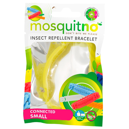 Trendy Insect Repellent Bracelet Connected Small Kids Citriodiol Couleur variable - Mosquitno
