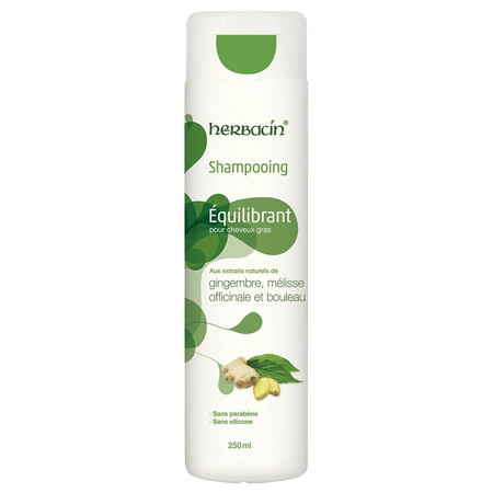 Shampooing Equilibrant pour Cheveux Gras - 250ml - Herbacin