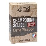 Shampooing Solide Ortie Charbon - 65g