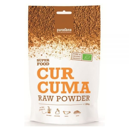 Super Food Curcuma Bio - 200g - Purasana