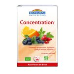 Infusions Concentration Bio - 20 sachets