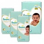 204 Couches Pampers New Baby Premium Care taille 4
