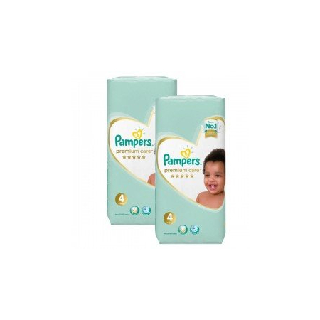 510 Couches Pampers New Baby Premium Care taille 4 - PAMPERS