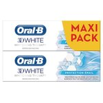 Oral-B 3D White Dentifrice Protection Email 2x75ml