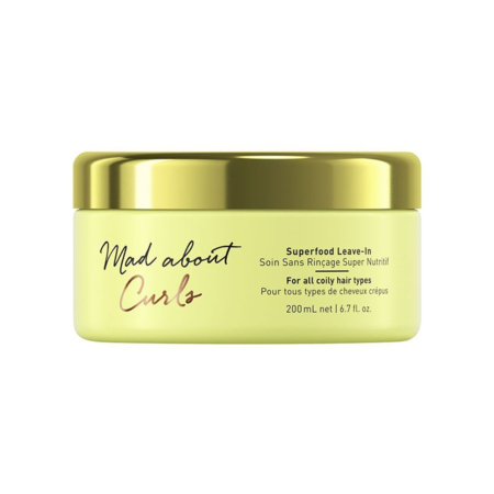 Mad About Curls Superfood Leave-In Soin Sans Rinçage Super Nutritif - 200ml - Schwarzkopf