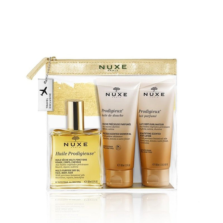 Trousse Travel with Nuxe Prodigieuse Collection - Nuxe