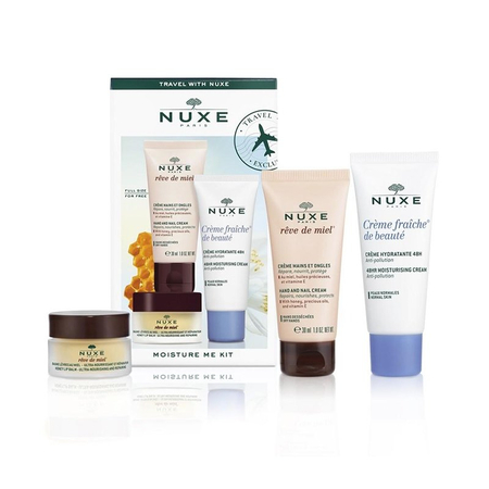 Coffret Travel with Nuxe Moisture Me Kit - Nuxe