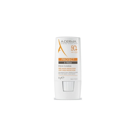 Protect X-Trem Stick Invisible SPF50+ Stick Solaire - 8g - A-Derma
