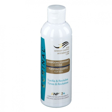 Shampooing Fortifiant Hommes ANP 2+ Soin Intensif des Cheveux - 200ml - Ecrinal