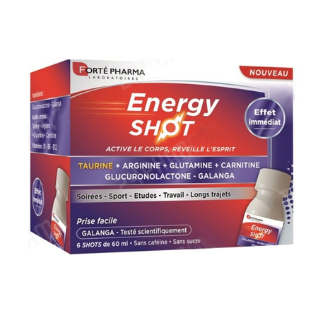 Energy Shot - 6 x 60ml - Forte Pharma