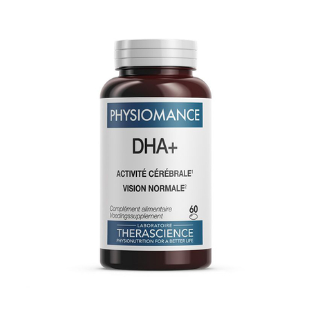 Physiomance DHA+ - 60 capsules - THERASCIENCE