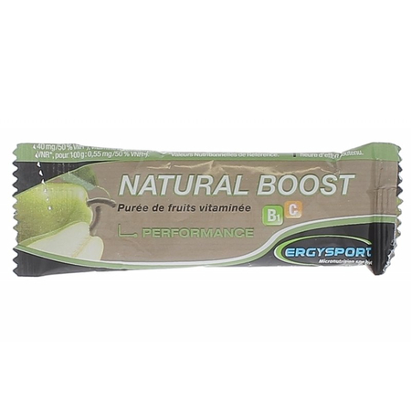 Natural Boost Performance Goût Poire - Nutergia