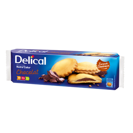 Nutra'Cake Biscuit Fourré Goût Chocolat - 405g - Delical