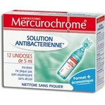 Désinfectants Solution antibactérienne 12 unidoses de 5 ml