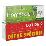 Homéodent - Dentifrice Soin complet dents et gencives - Chlorophylle - lot de 2x75ml