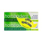 Homéodent - Dentifrice Soin complet dents et gencives - Anis - lot de 2x75ml