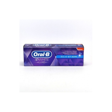 Oral B 3D White Luxe Dentifrice - 75ml