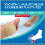 Coussinets double protection à l'Epithelium 26 P36/38 - 1 paire