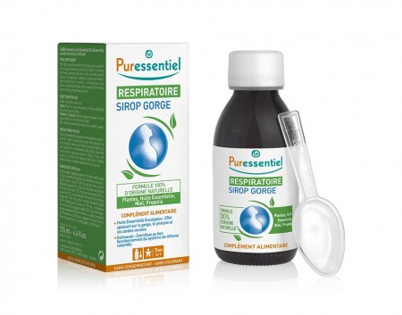 respiratoire sirop gorge 125ml de puressentiel sur 1001pharmacies. Black Bedroom Furniture Sets. Home Design Ideas