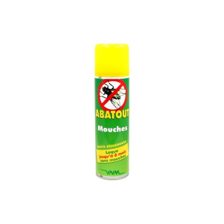 abatout laque antimouches spray 250ml