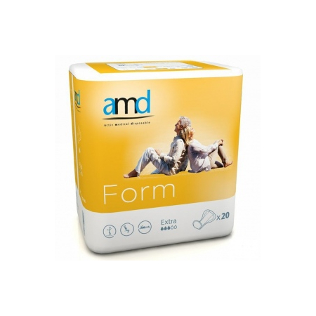 Form Cotton Feel Extra - 20 protections anatomiques - AMD