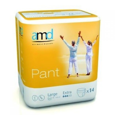 AMD PANT SOUS VETEMENT ABSORBANT LARGE EXTRA 14 absorption 1500ml