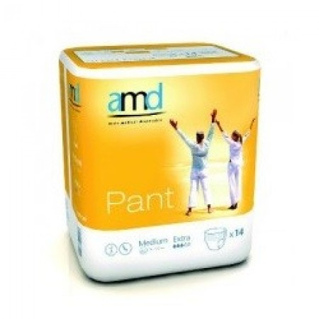 AMD PANT SOUS VETEMENT ABSORBANT MEDIUM EXTRA 14 absorption 1400ml