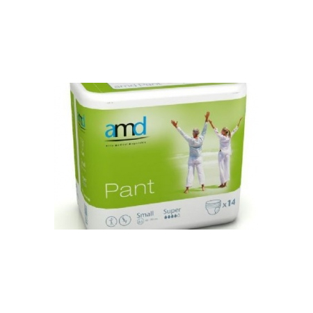 AMD PANT SOUS VETEMENT ABSORBANT SMALL SUPER 14 absorption 1500ml