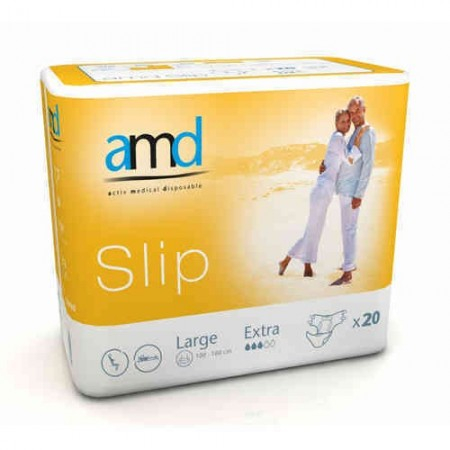 Slip Extra Taille L - 20 changes complets - AMD