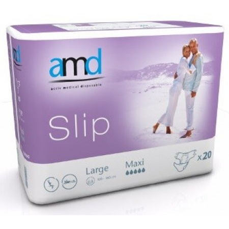 Slip Maxi - Taille Large - 20 changes complets - AMD