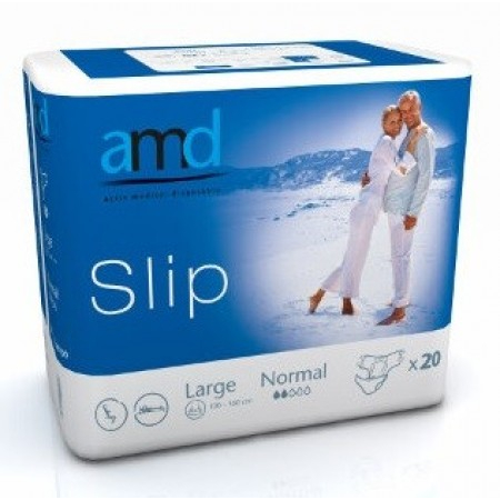 Slip Normal Taille L - 20 changes complets - AMD