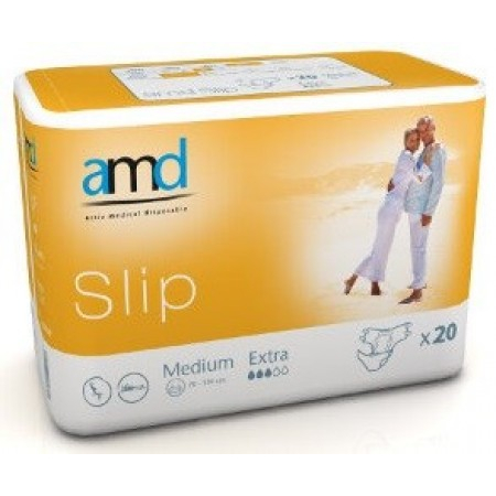 Slip Extra - Taille Medium - 20 changes complets