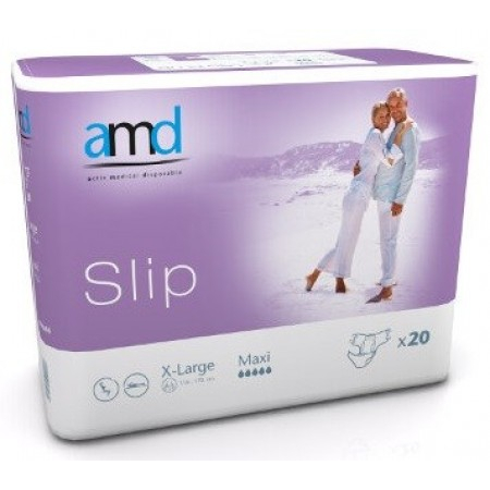 Slip Maxi - Taille X-Large - 20 changes complets - AMD