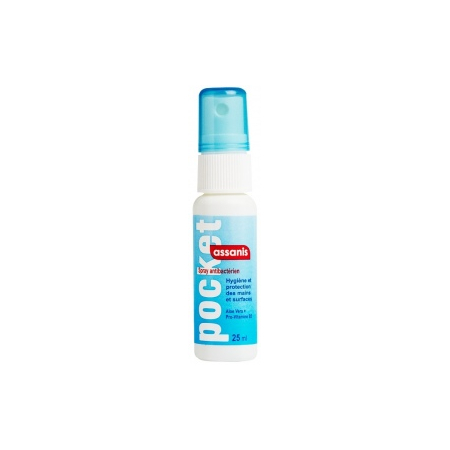 Spray antibactérien Assanis - 25ml - Assanis