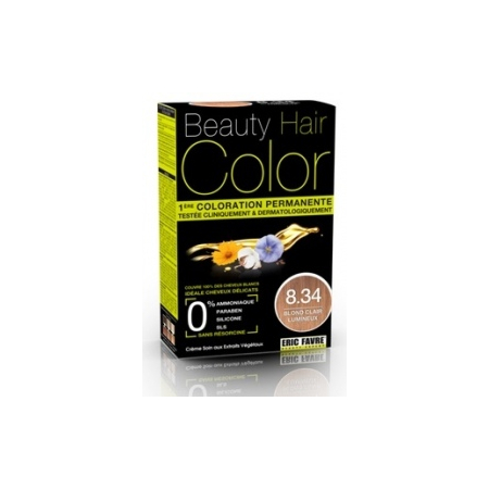 BEAUTY EXPERT COLOR BLOND CLAIR LUMIN 8.34 160ML - Eric Favre Laboratoire