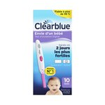 Test d'ovulation Clearblue Digital – Boite de 10 Tests