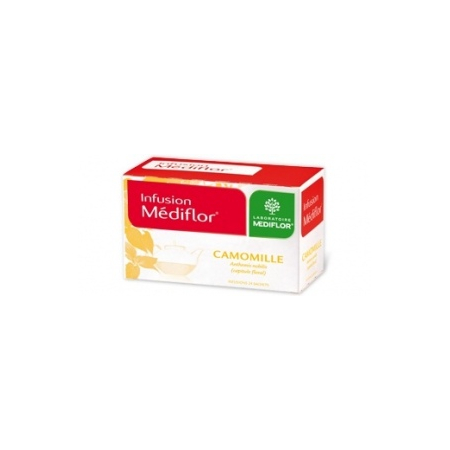 Infusions Médiflor Camomille 24 Sachets