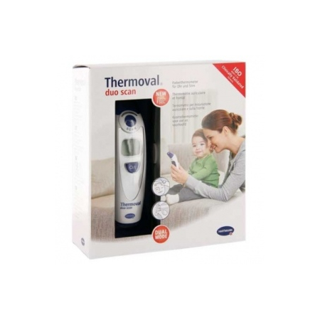Thermomètre Thermoval Duo Scan HARTMANN - auriculaire et frontal - Thermoval