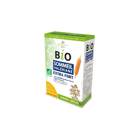 Ampoules Bio Sommeil Valériane Extra Fort